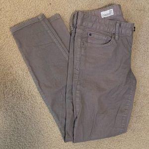 Gap gray skinny jeans